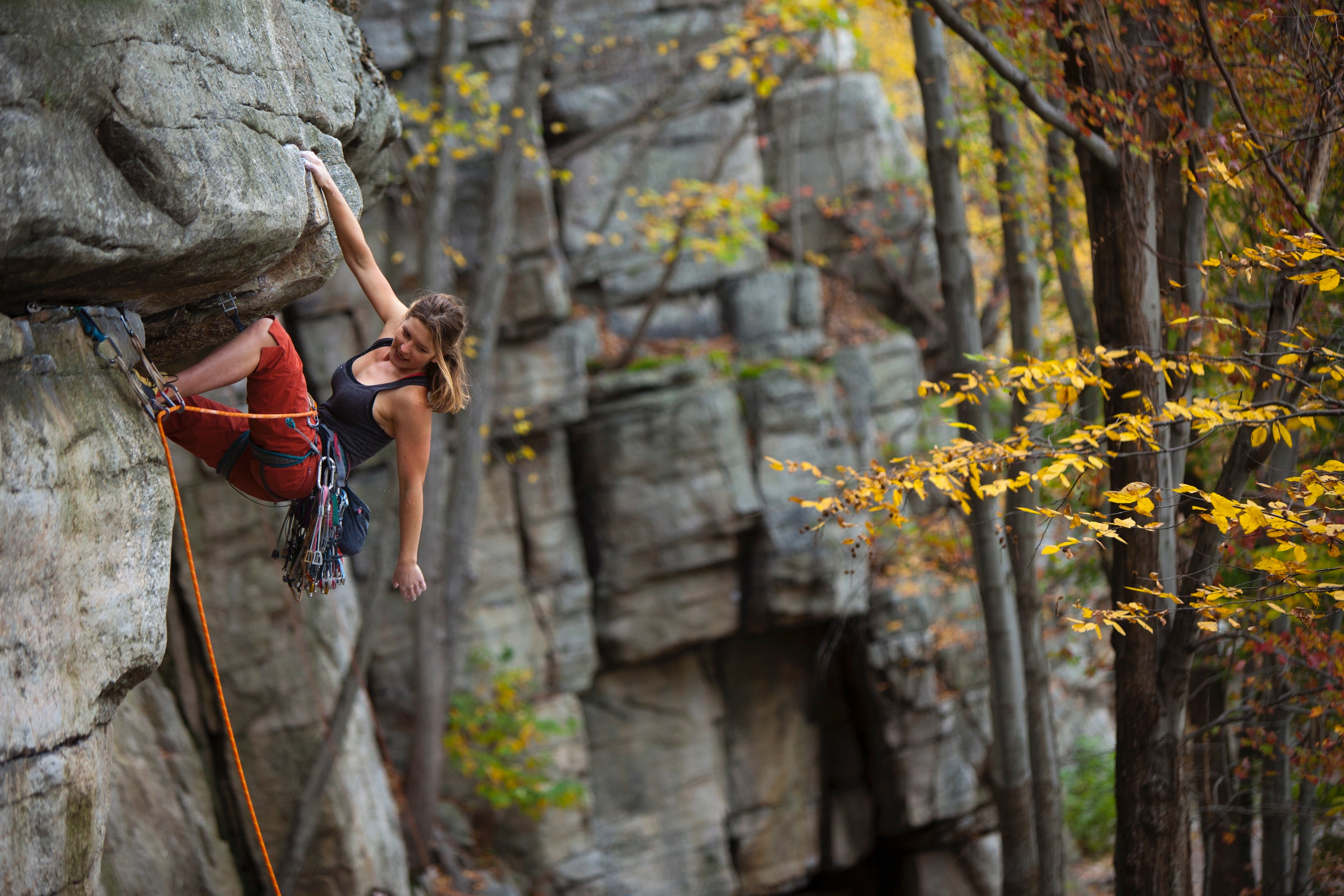 Climber death rock Renowned US